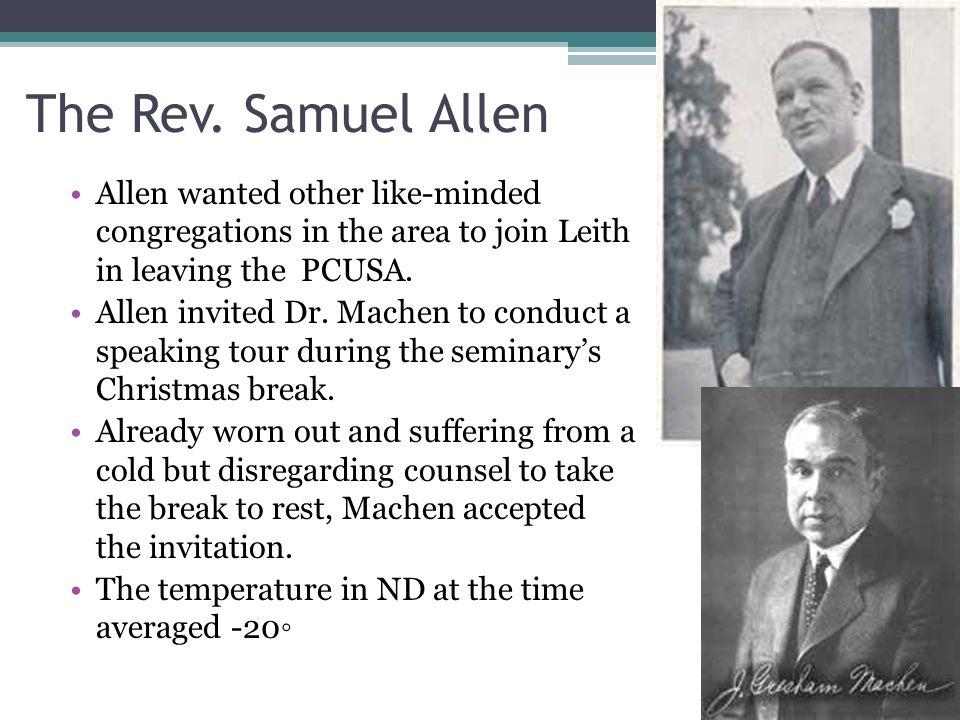 The Rev.