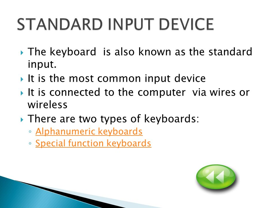  This keyboard contains letters, numbers and symbols in particular layouts  This type of keyboard is modeled after the typewriter and referred to as a QWERTY Keyboard.