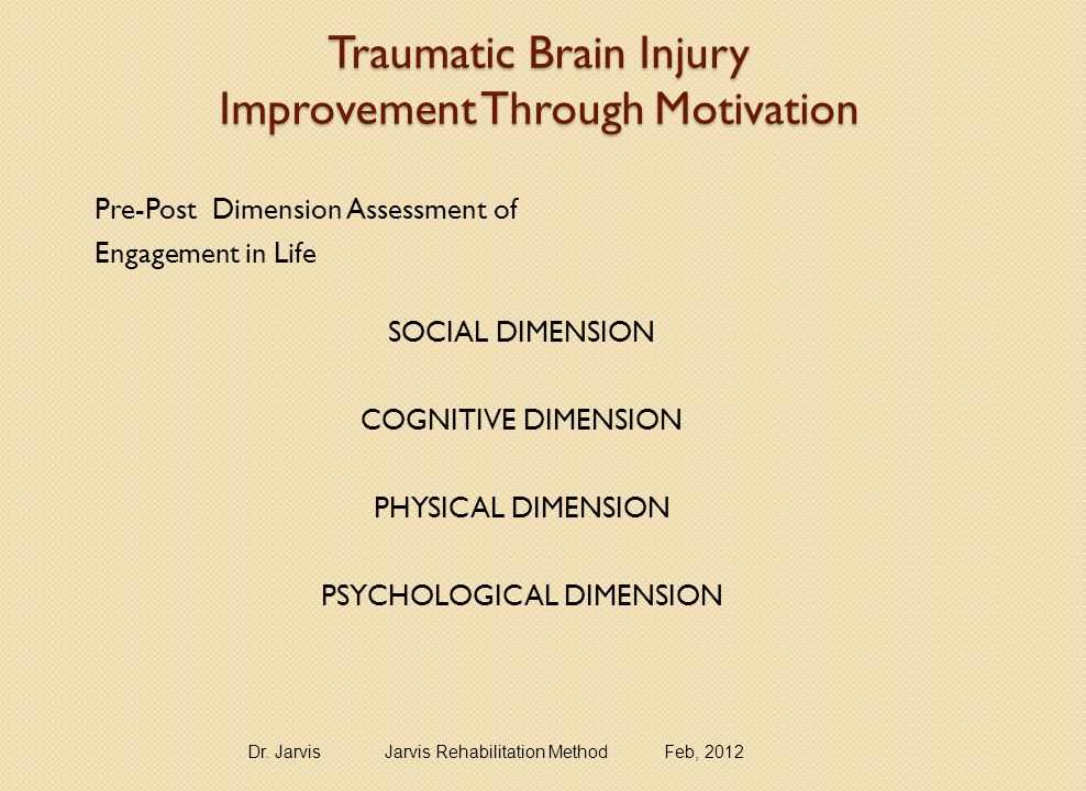 SURVEY – A PERSON'S ATTITUDE TOWARDS IMPROVEMENT and MOTIVATION TBI and ABI Survivors-SAMPLE QUESTIONS Write a response to each question in the blank: ____2 Are you motivated to improve.