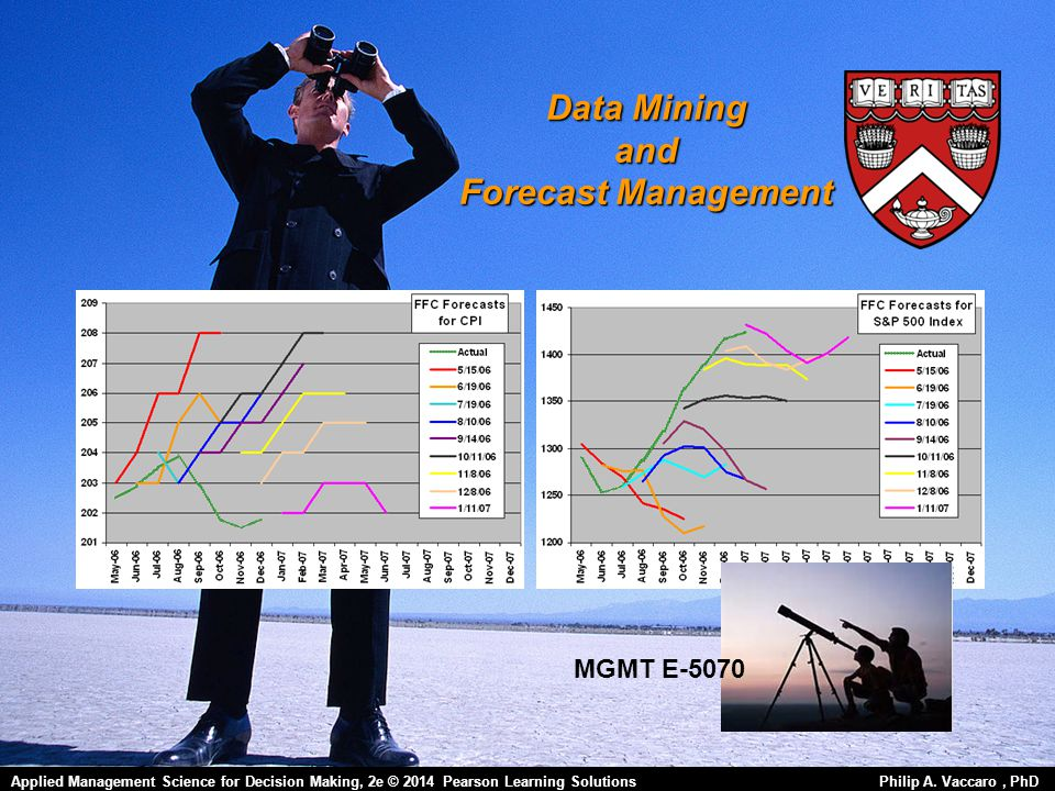 Data Mining and Forecast Management Applied Management Science for Decision Making, 1e © 2012 Pearson Prentice-Hall, Inc.
