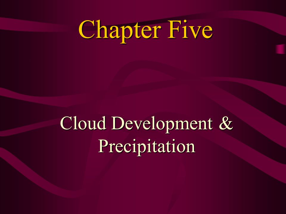 Goal for this Chapter We are going to learn answers to the following questions: Why there any instabilities in the atmosphere.