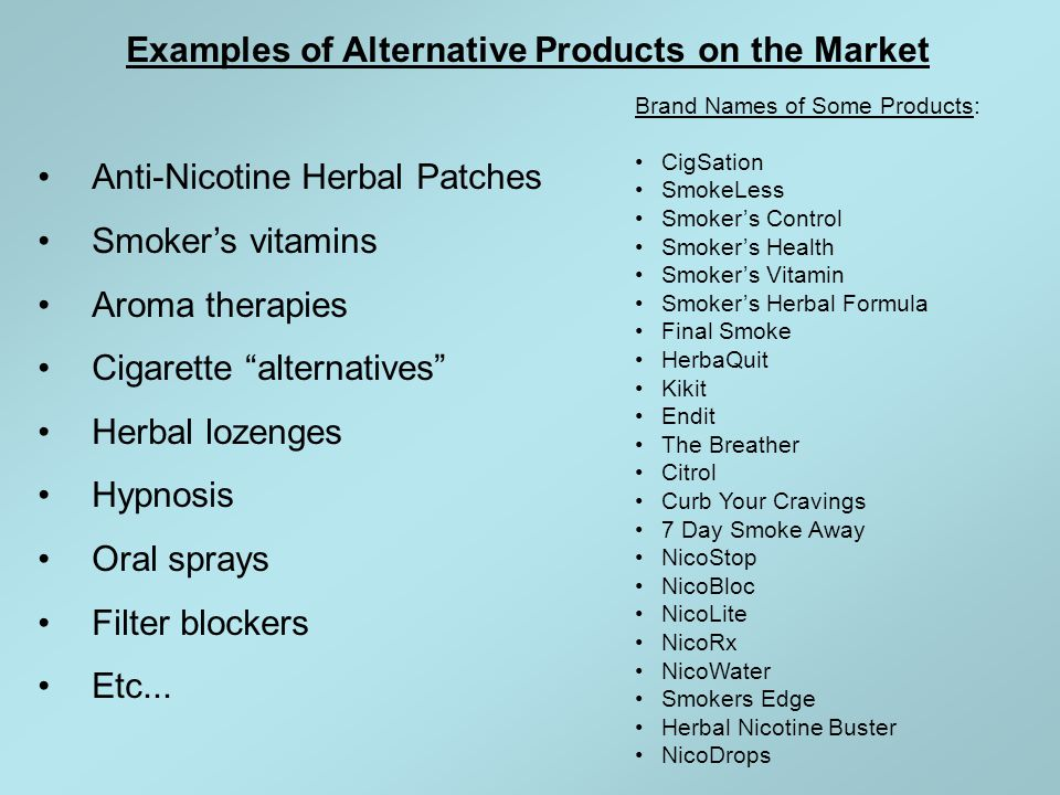 What is in these products.