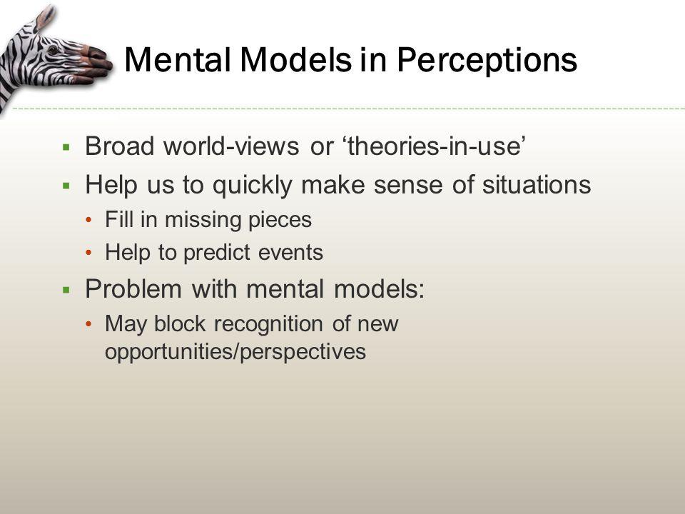 Strategies to Improve Perceptions 1.Awareness of perceptual biases 2.