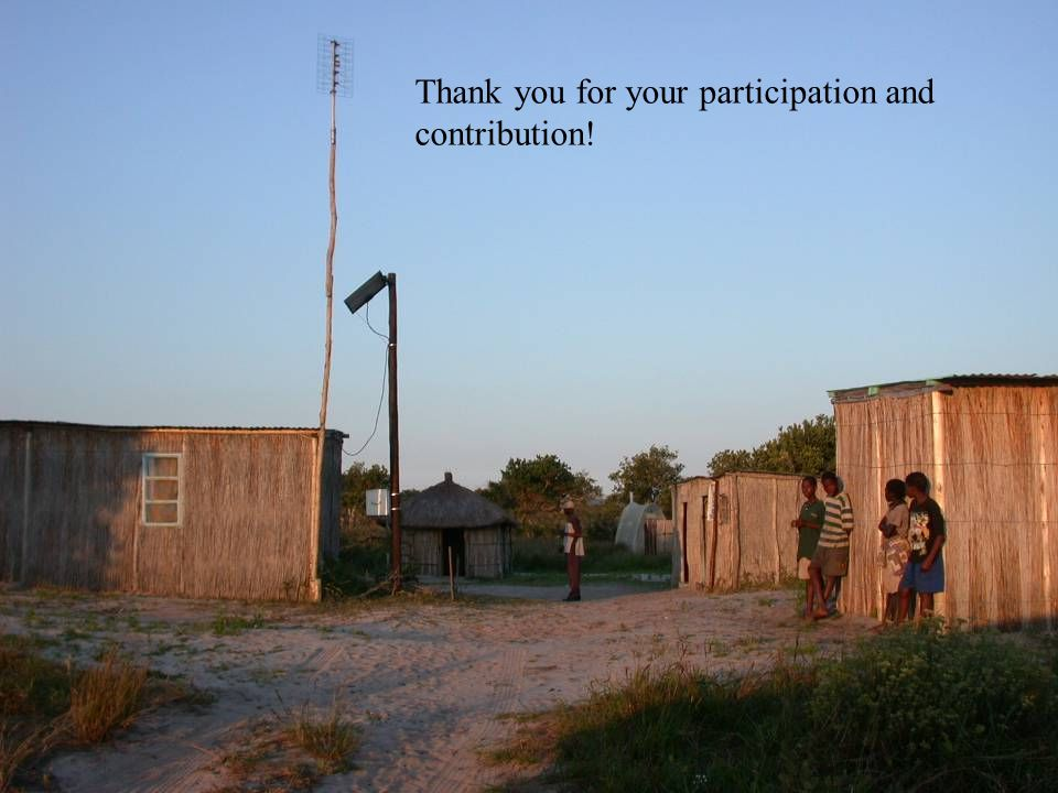 25 Thank you for your participation and contribution!