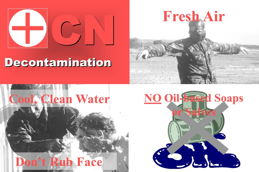 Cool, Clean Water Fresh Air NO Oil-based Soaps or Salves Don't Rub Face Decontamination CN