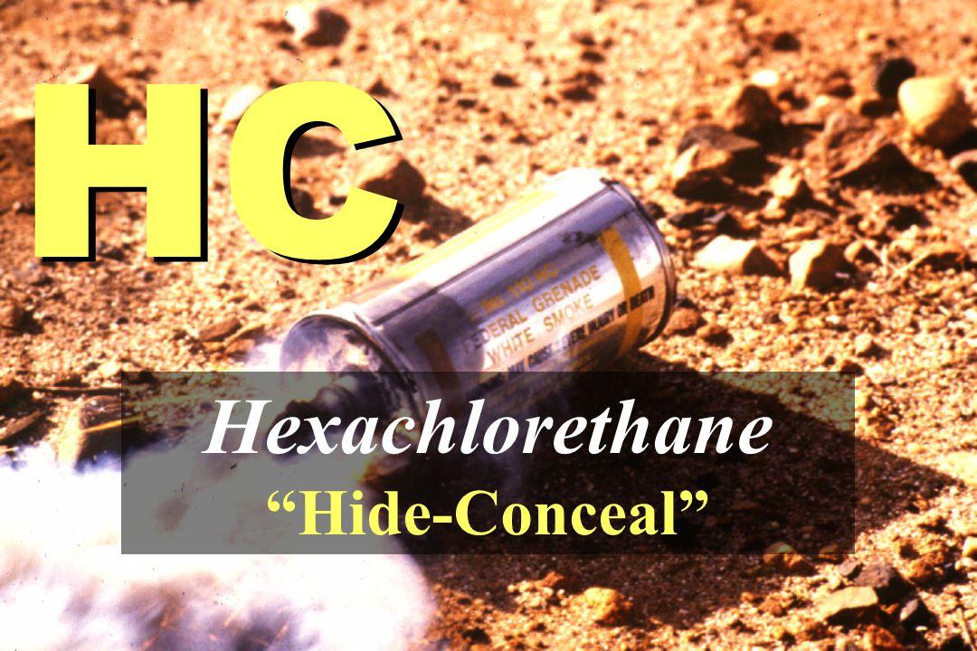"HC Hexachlorethane ""Hide-Conceal"""