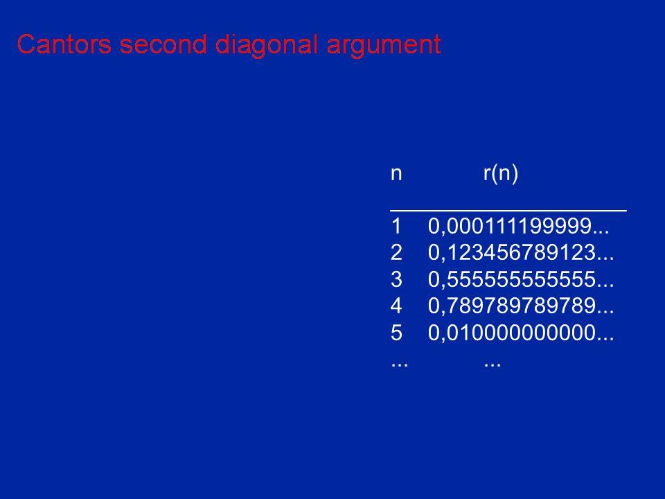 nr(n) ___________________ 10,000111199999... 20,123456789123... 30,555555555555... 40,789789789789... 50,010000000000.........
