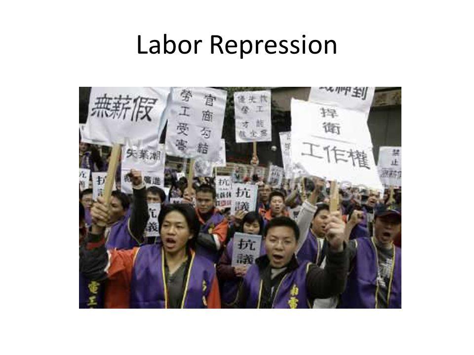 Labor Repression