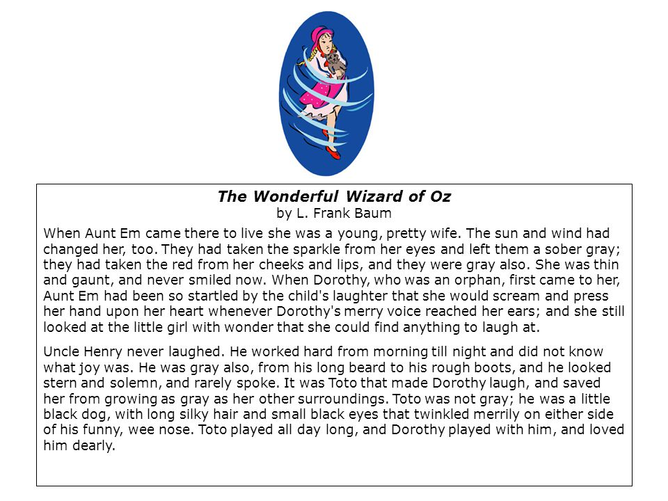 The Wonderful Wizard of Oz by L.