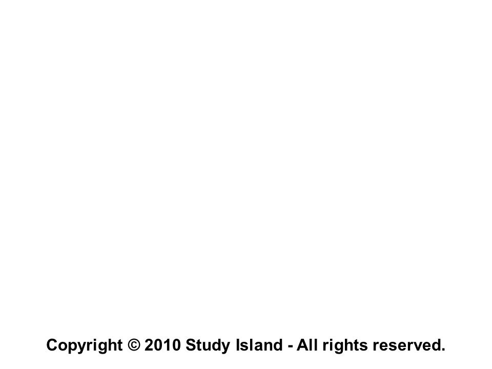 Copyright © 2010 Study Island - All rights reserved.