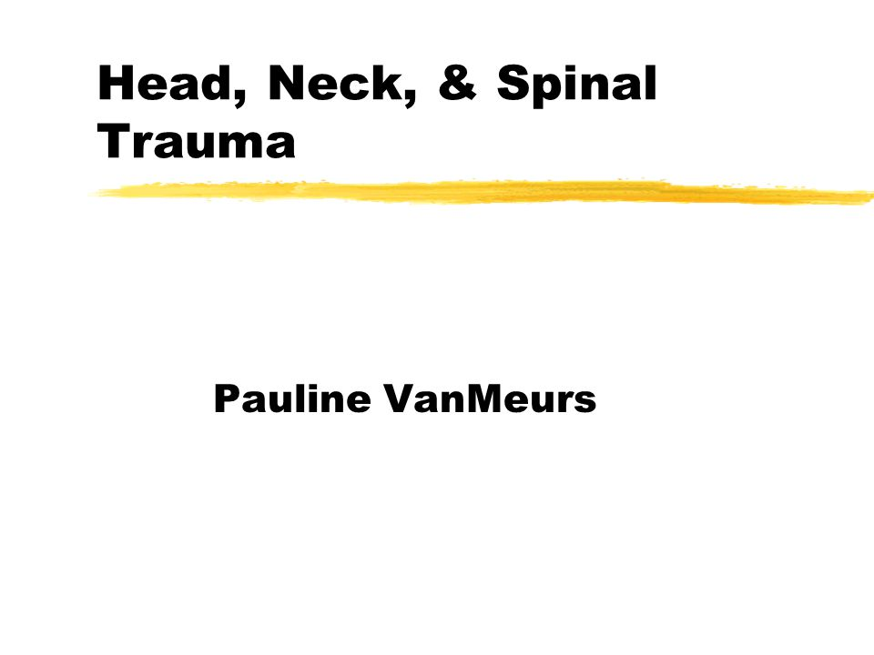Ear Trauma zExternal injuries ylacerations, avulsions, amputations, frostbite yControl bleeding with direct pressure zInternal injuries ySpontaneous rupture of eardrum will usually heal spontaneously ypenetrating objects should be stabilized, not removed.