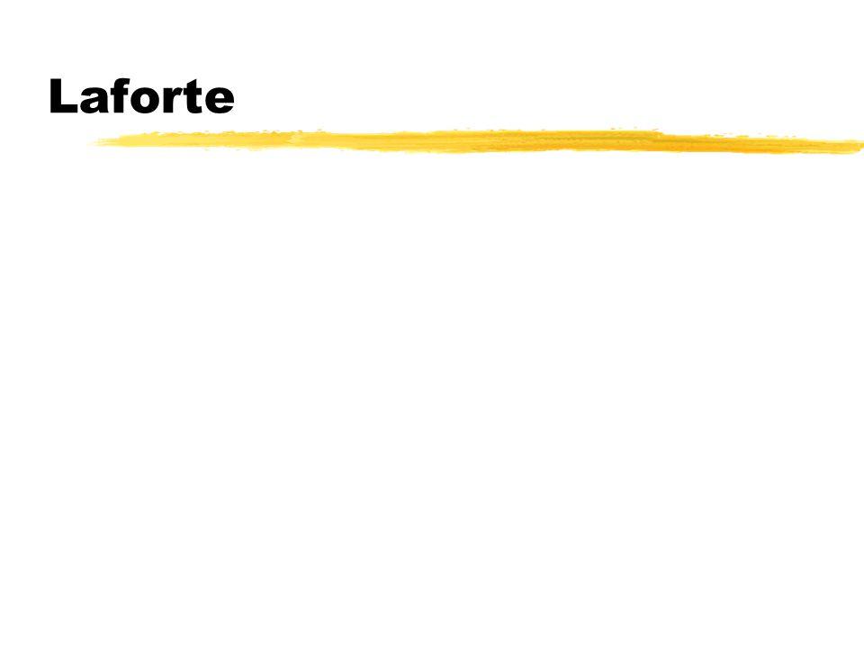 Description of LaForte FX zLaForte I - Maxillary fracture with free- floating maxilla zLaForte II - Maxilla, zygoma, floor of orbit and nose zLaForte III - Lower 2/3 of the face