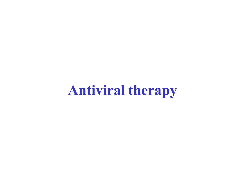 Antiviral therapy