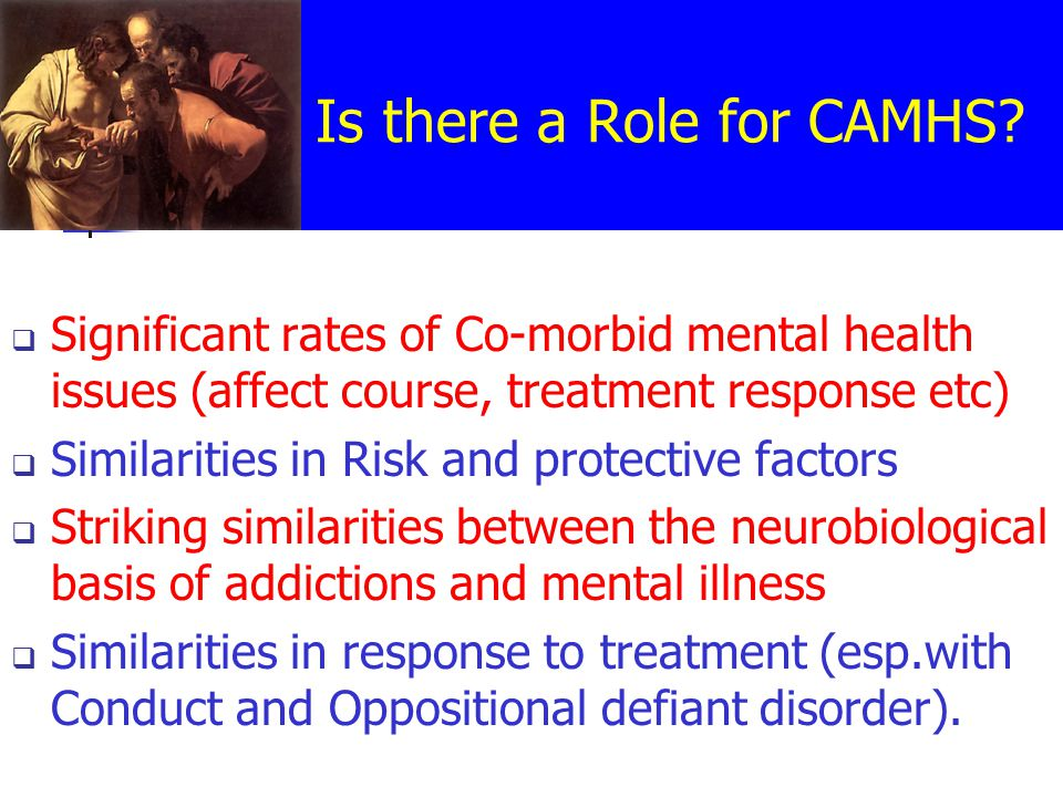 Is there a Role for CAMHS.