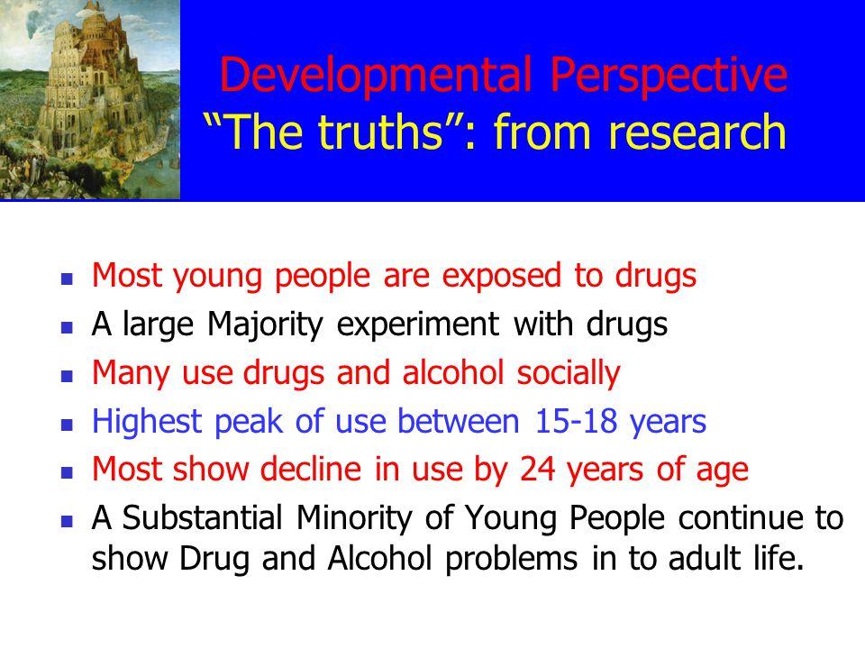 Natural History Of Drug and Alcohol Use Kandel and Yamaguchi, 1972