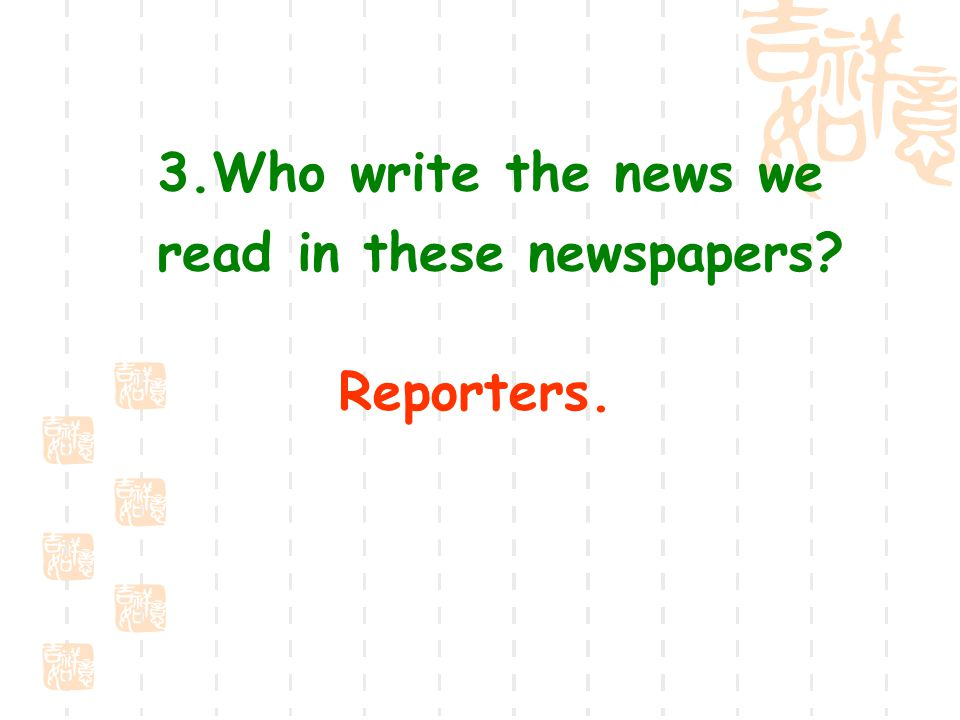 2.Which kinds of newspapers do you often read.