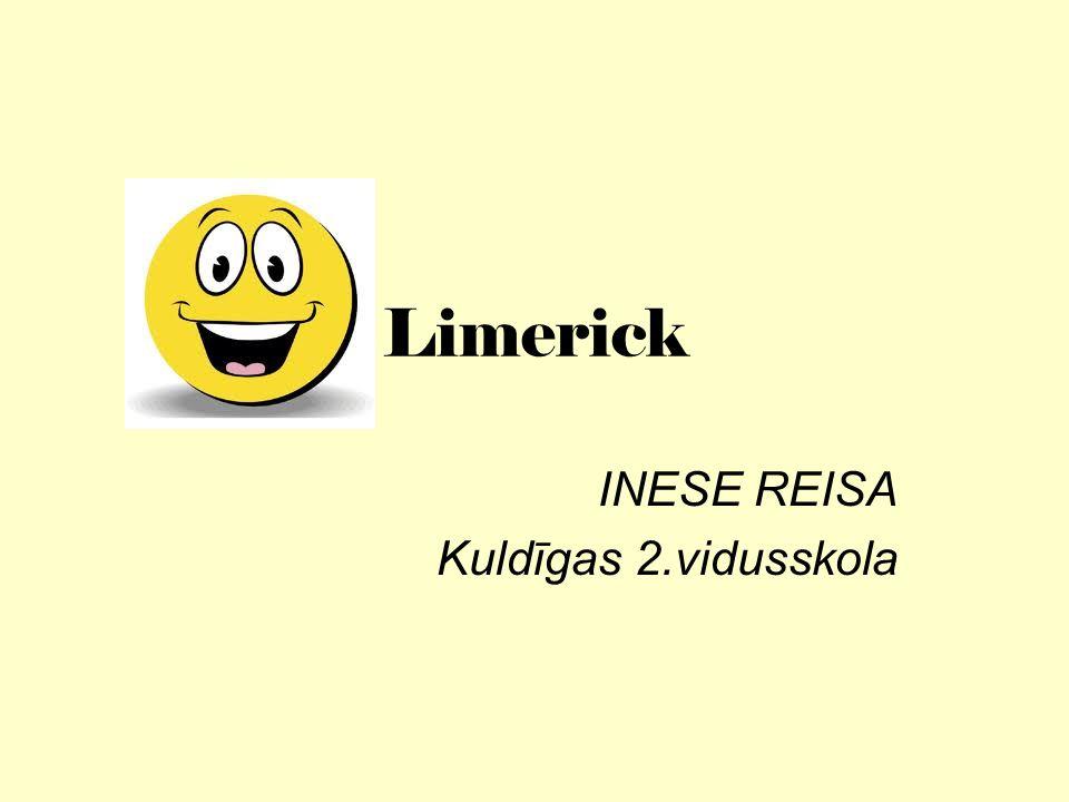 Limerick INESE REISA Kuldīgas 2.vidusskola