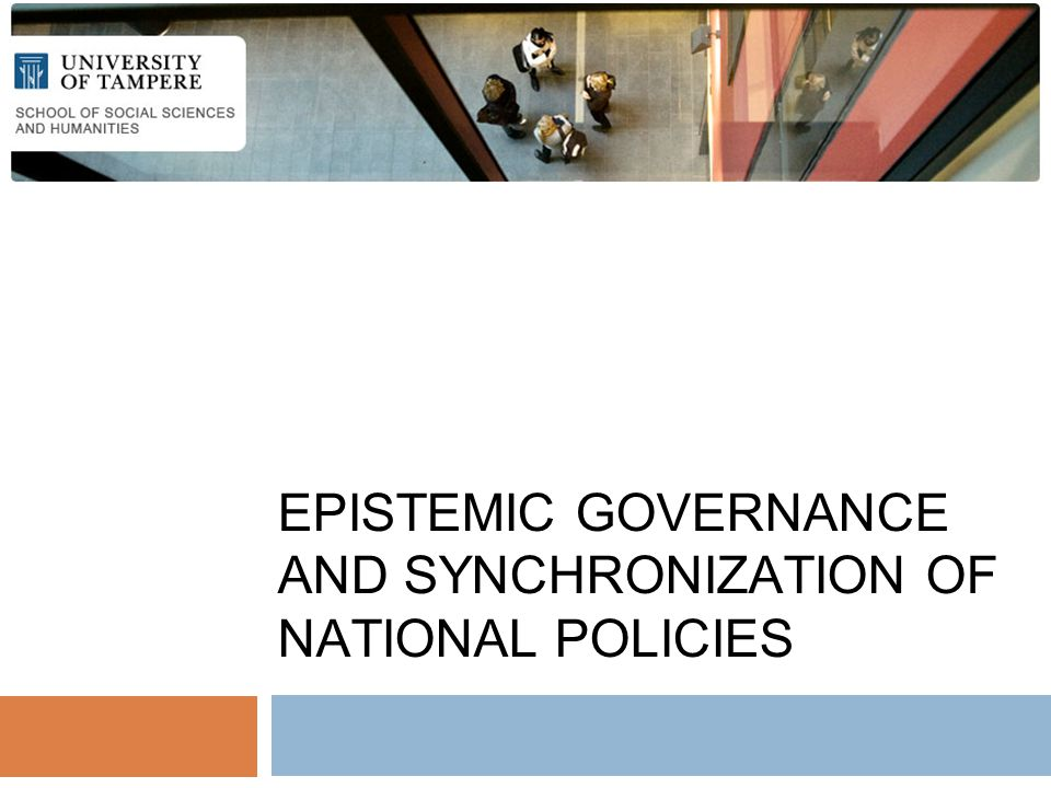 EPISTEMIC GOVERNANCE AND SYNCHRONIZATION OF NATIONAL POLICIES