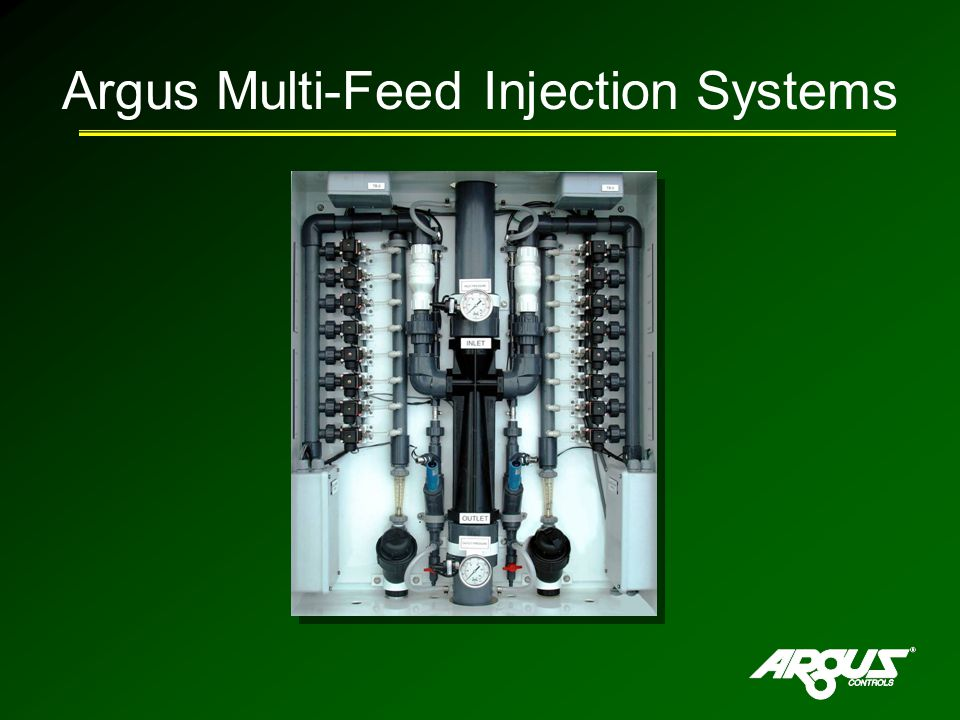 Argus Multi-Feed Injection Systems