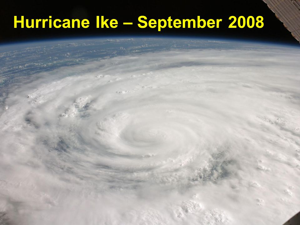 Hurricane Ike – September 2008