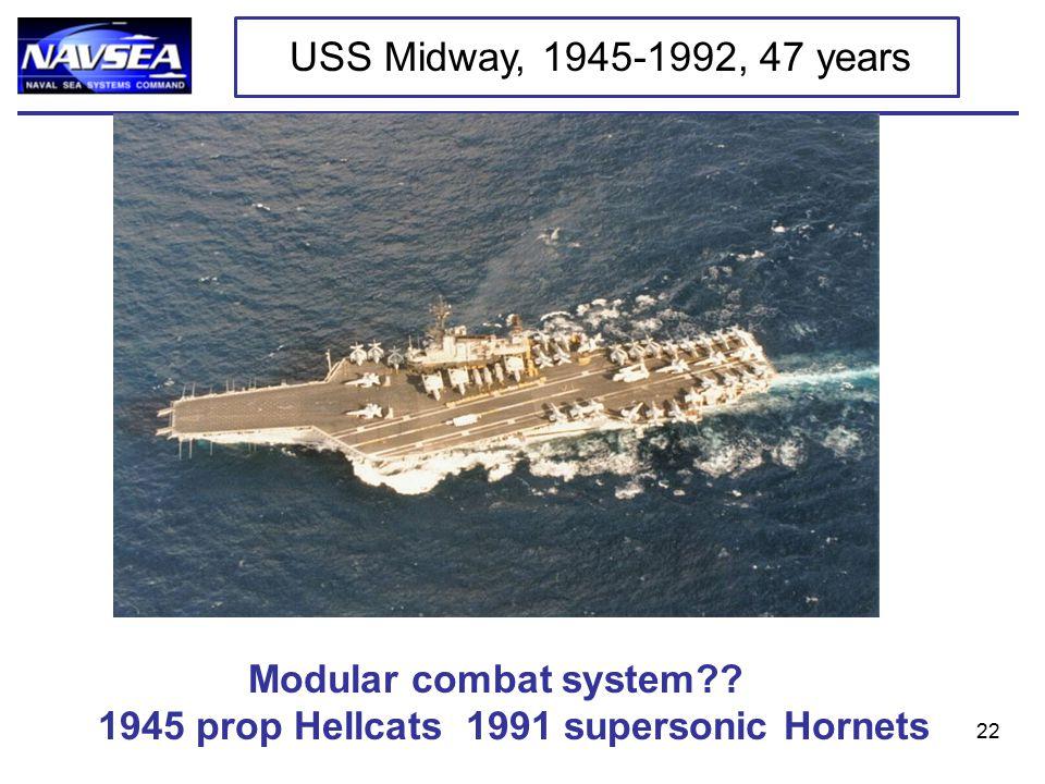 22 Modular combat system .