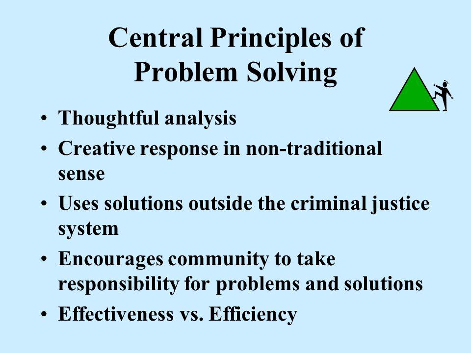 Efficiency v. Effectiveness EFFICIENCY - doing things RIGHT. EFFECTIVENESS - Doing the RIGHT things. Ideally, both efficiency and effectiveness are pr