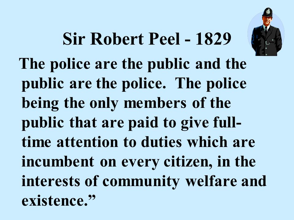 This is Nothing New This concept is as old as organized policing The London Metropolitan Police Force - 1820's Policing was a Prevention-based operati