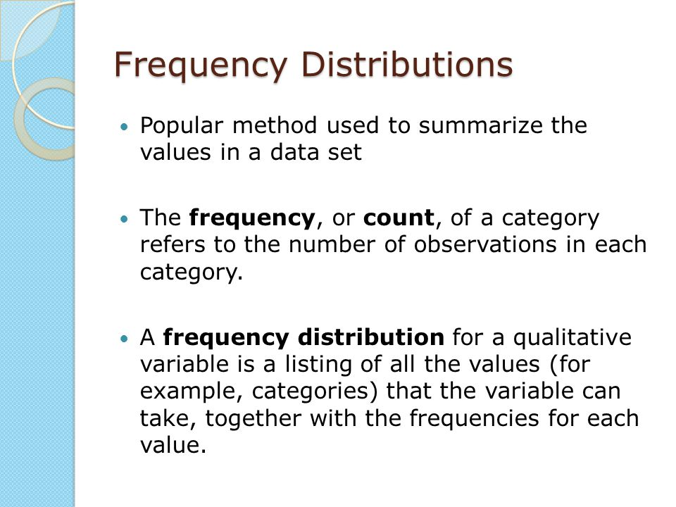 Histograms Graphical summary for quantitative data Constructed using rectangles for each class of data.