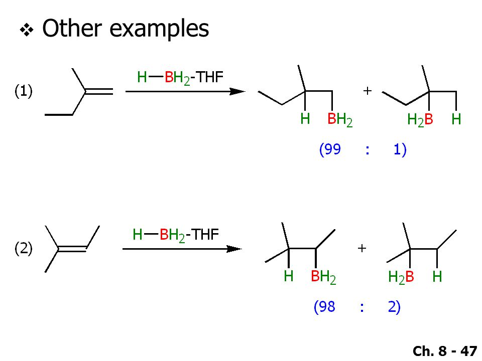 Ch. 8 - 47  Other examples