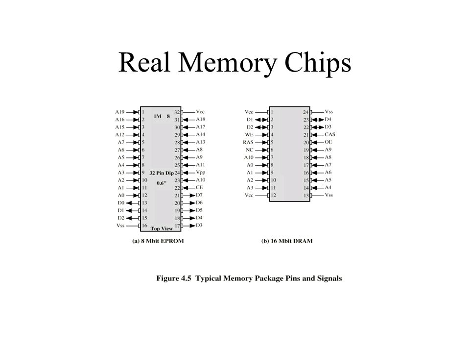 Real Memory Chips