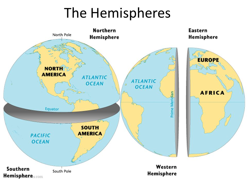 The Hemispheres OwlTeacher.com