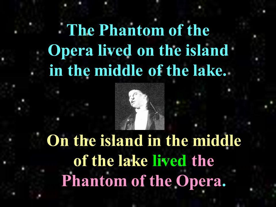 A strange, dark lake was underneath the Paris Opera House.