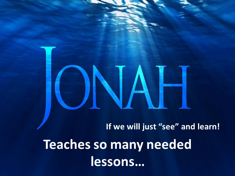Teaches so many needed lessons… If we will just see and learn!