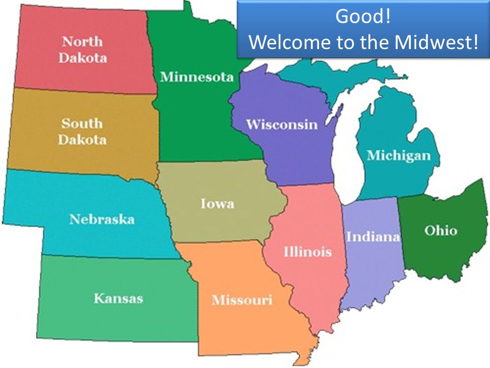 What color should we click for the Midwest
