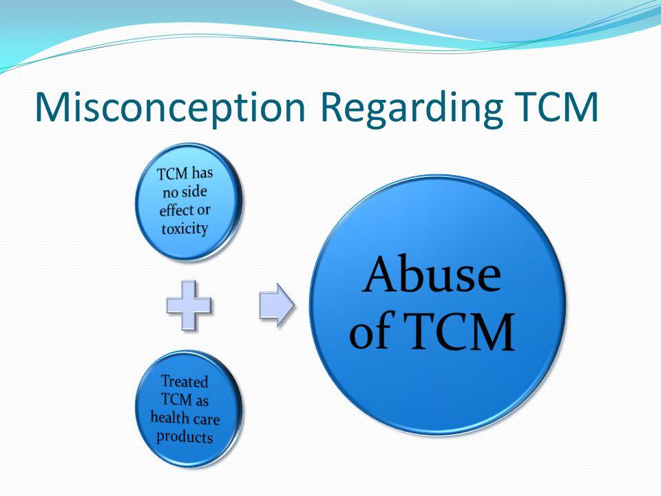 Misconception Regarding TCM