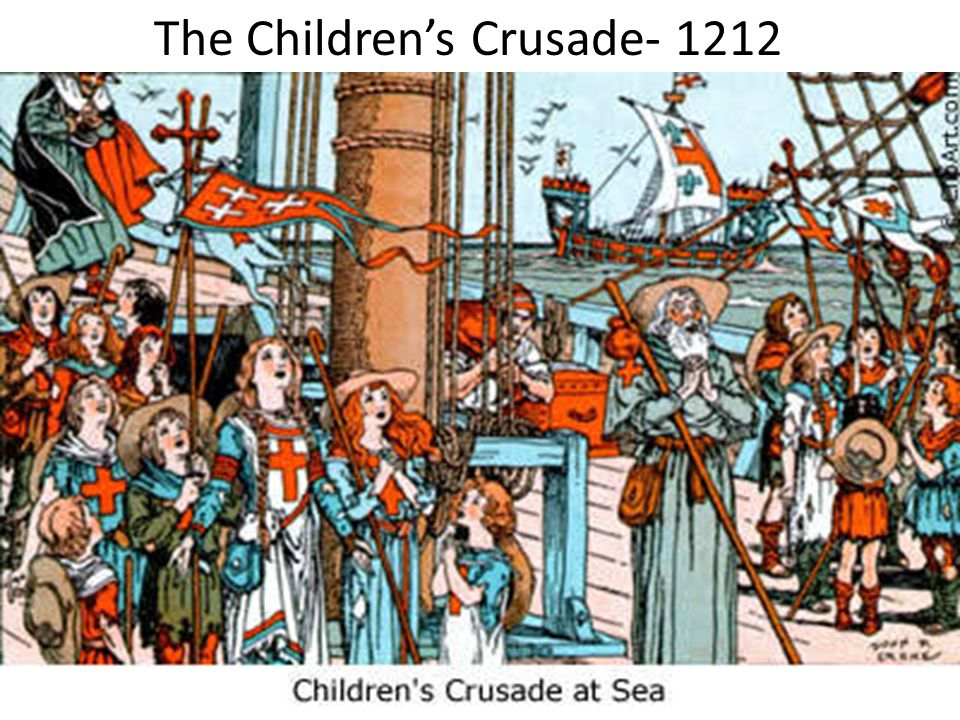The Children's Crusade- 1212