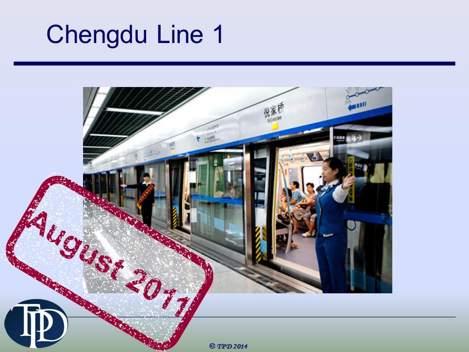 Chengdu Line 1 © TPD 2014 August 2011