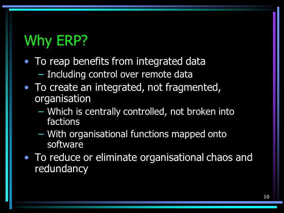 10 Why ERP.