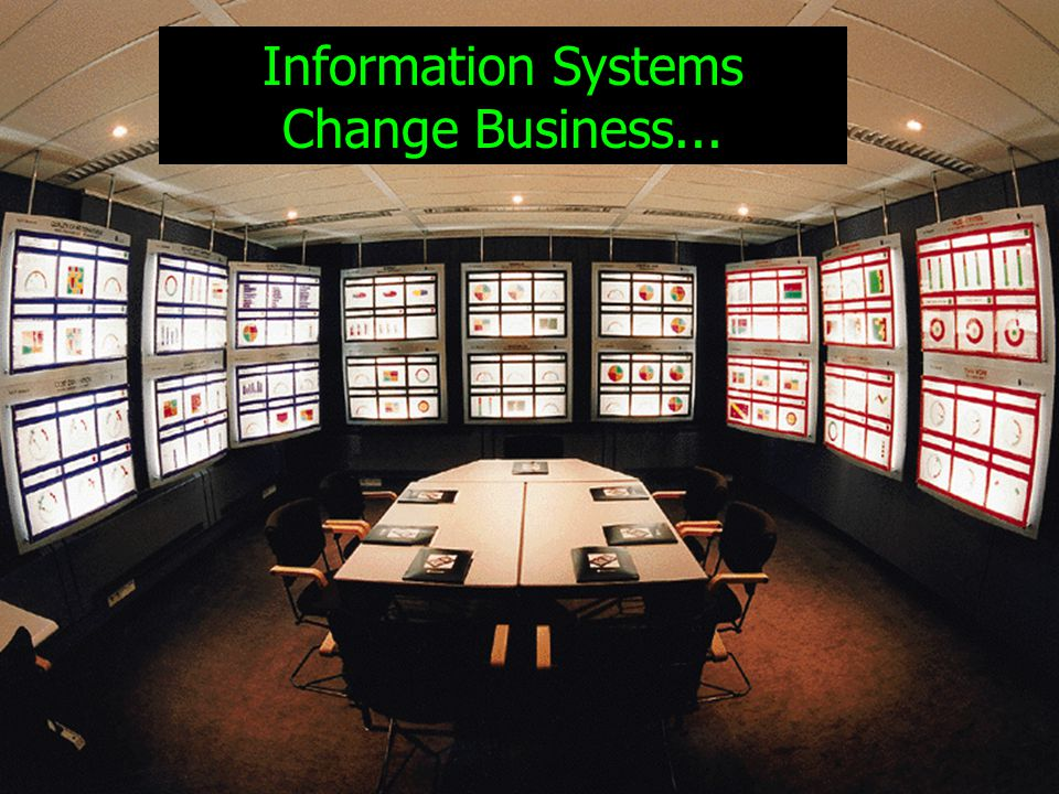 2 Information Systems Change Business...