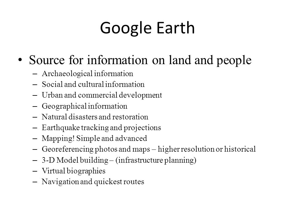 Source for information on land and people – Archaeological information – Social and cultural information – Urban and commercial development – Geograph