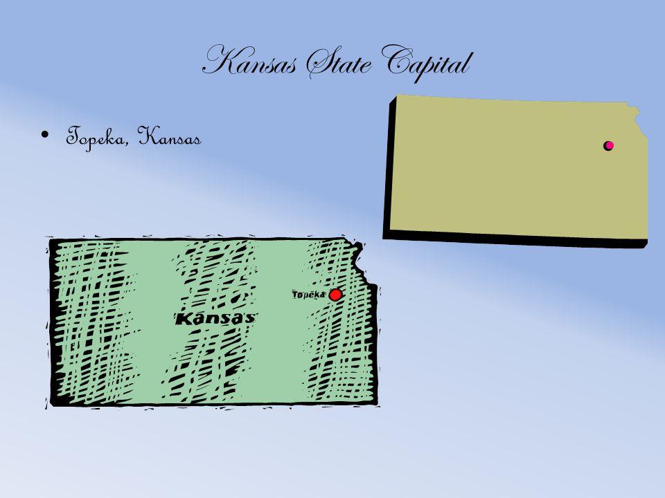 Kansas State Capital Topeka, Kansas