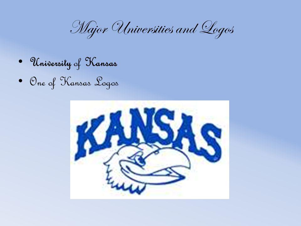 Major Universities and Logos University of Kansas One of Kansas Logos