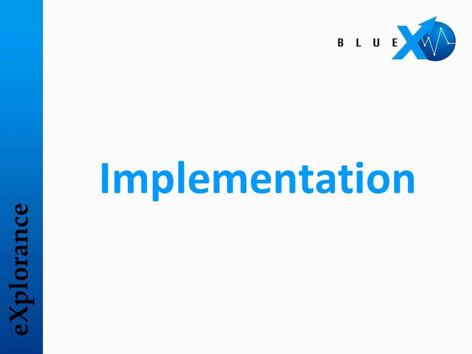 eXplorance Implementation