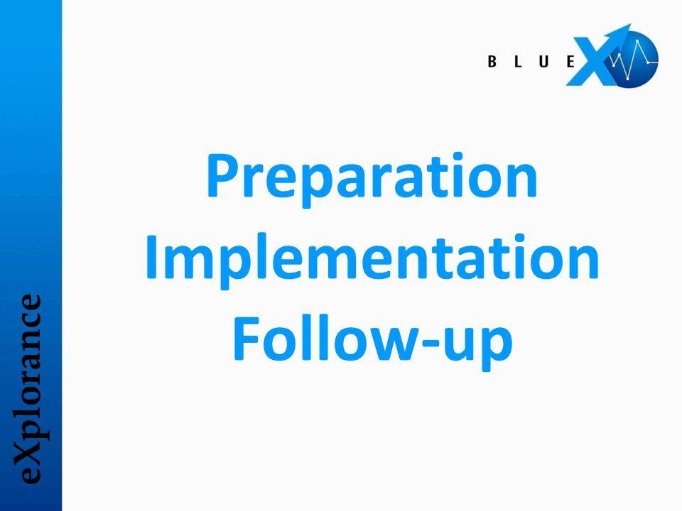 eXplorance Preparation
