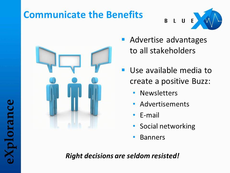 eXplorance Sample Marketing Campaign
