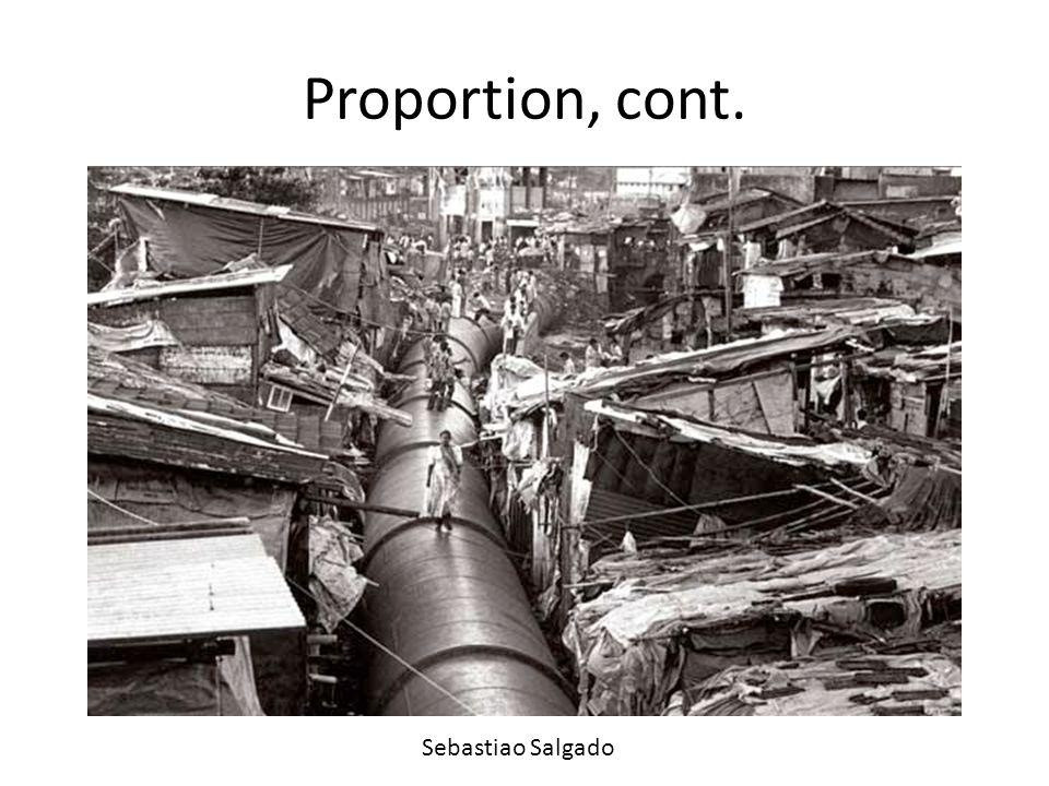 Proportion, cont. Sebastiao Salgado