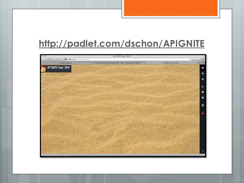 http://padlet.com/dschon/APIGNITE