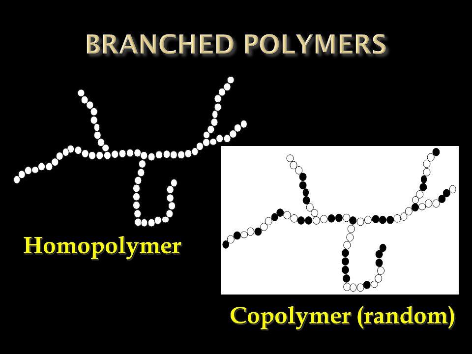 HomopolymerHomopolymer Copolymer (random)