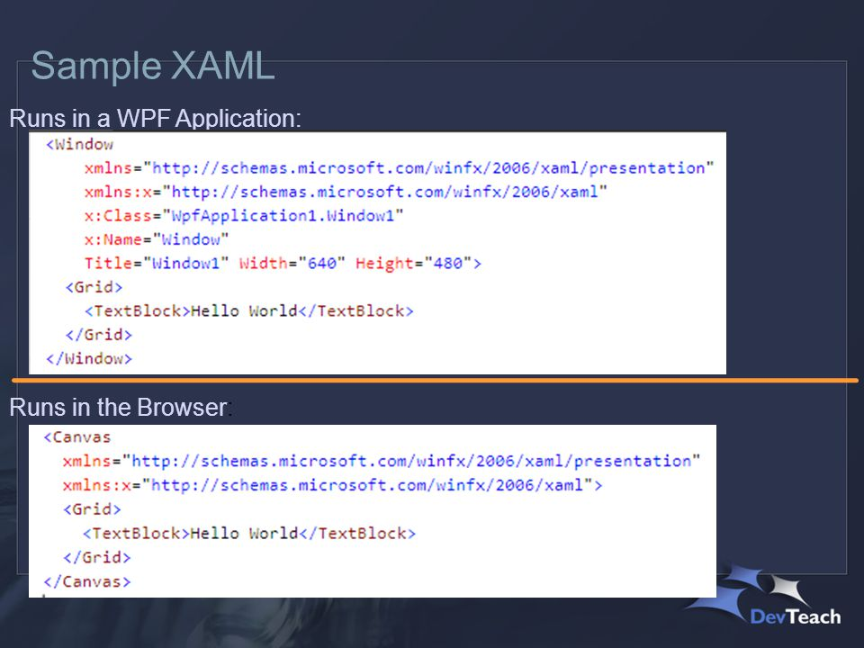 Summary Layout in XAML is flexible Each technology has it's own set of controls Data Binding is rich & supports many data types Styles bring life to your applications The learning curve can be steep, but is worth it.