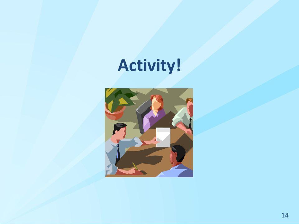 Activity! 14